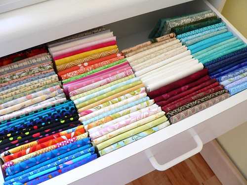 Folded Fat Quarters | by Deb@asimplelifequilts