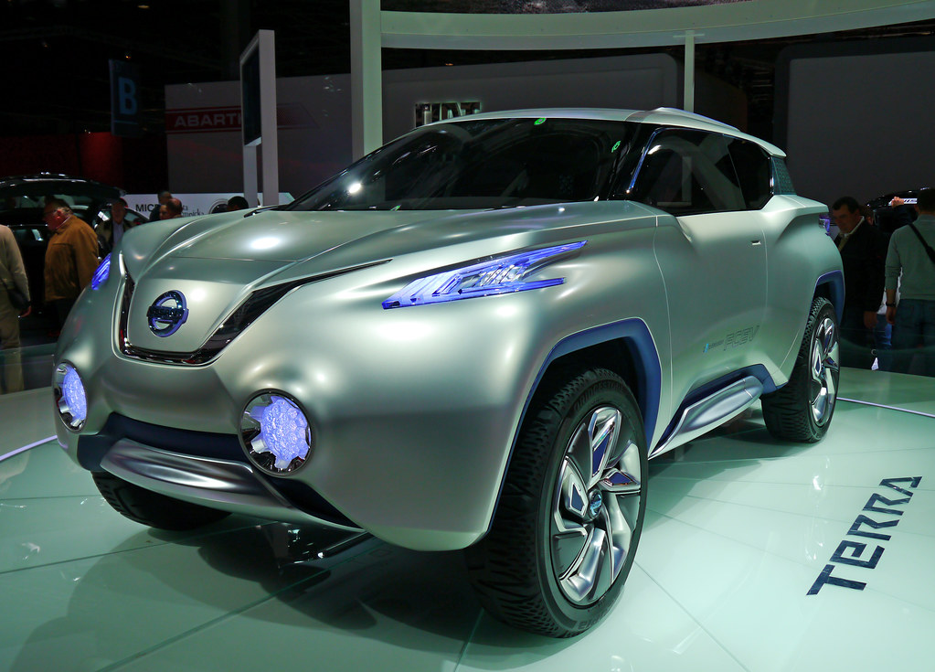 Mondial De Lautomobile 2012 Paris France Nissan Terra Flickr