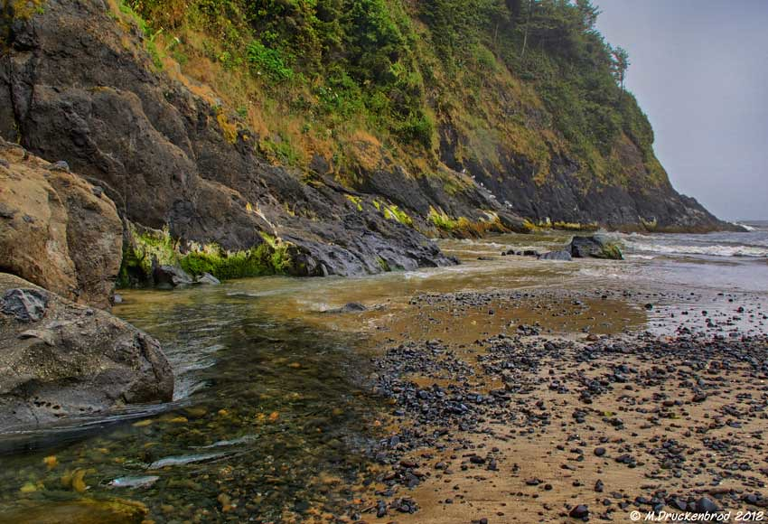 The Mouth Of Cape Creek At Heceta Beach Florence Or Flickr