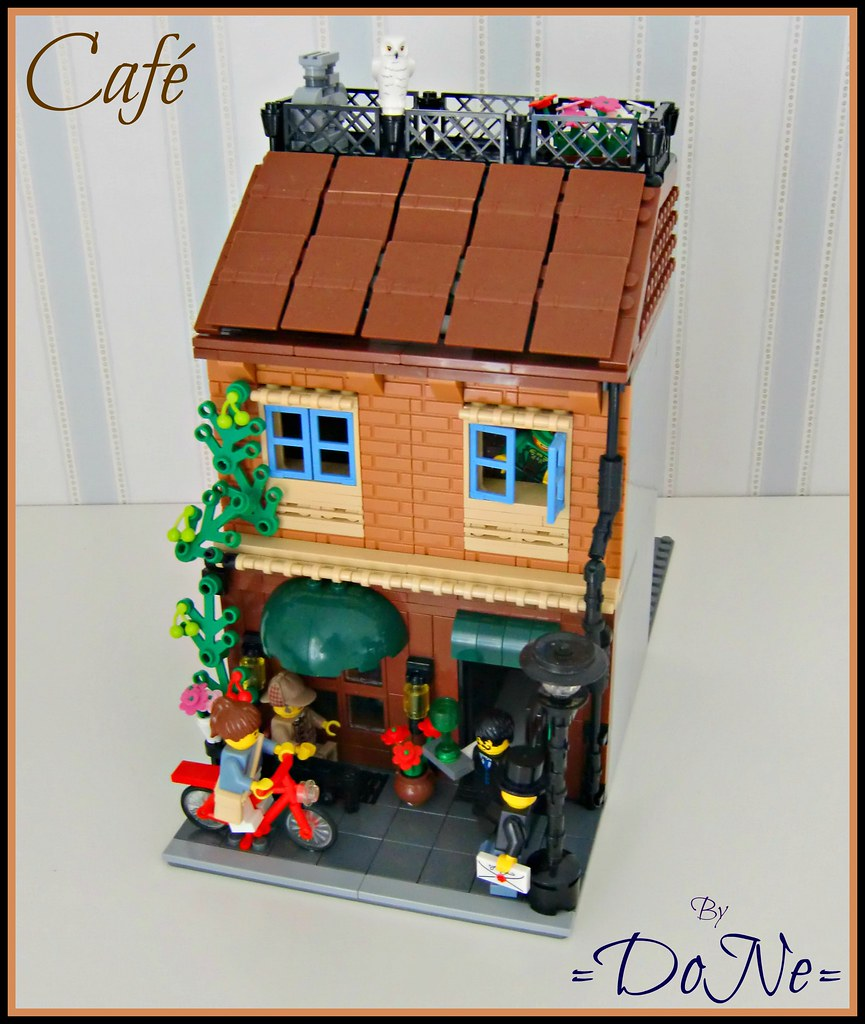House on the rock flickr photo sharing -  Lego Caf By Done