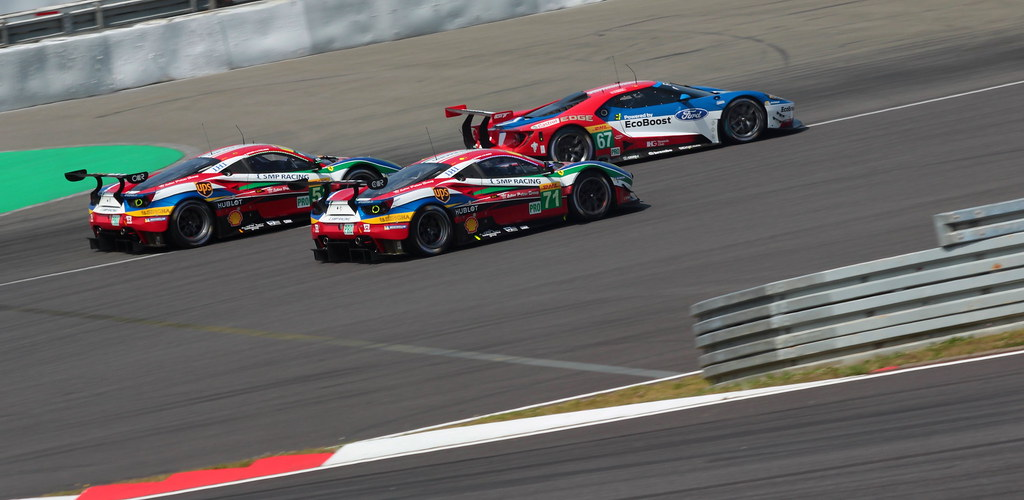 World Endurance Championship  Hours Of Nurburgring  Ford Gt  Gte