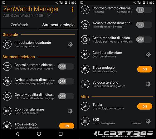 Asus ZenWatch Manager | Ilcatta86 dotcom