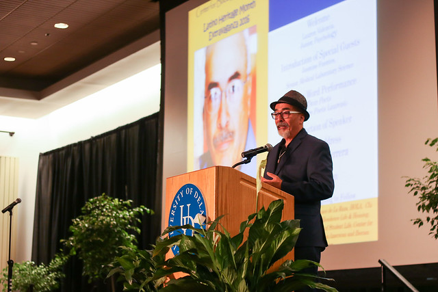 "U.S. Poet Laureate encourages students to ""find their voice"""