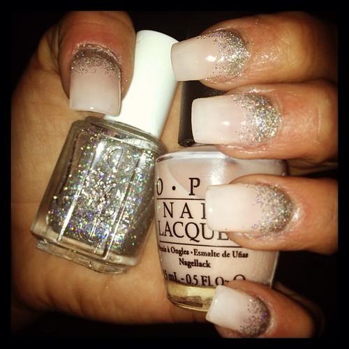 nude glitter nails salongdinstund nailswag malm nagl flickr. Black Bedroom Furniture Sets. Home Design Ideas