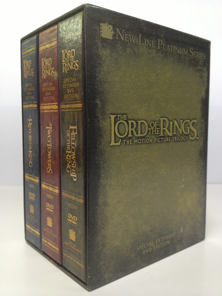 Lord Of The Rings Special Edition Dvd