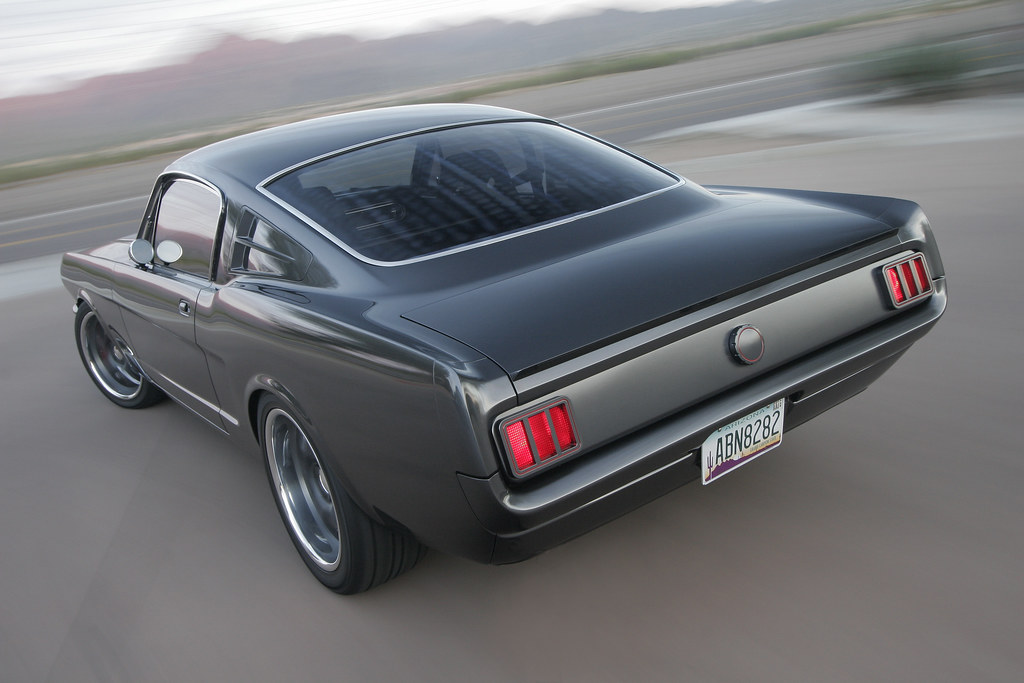 1965 Ford Mustang Custom Fastback Featured In July 2011