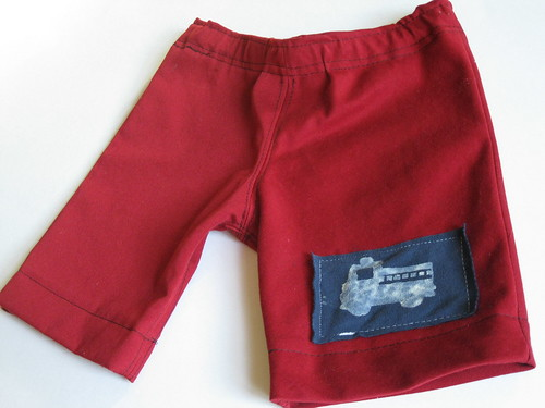 boys' fire truck shorts. DIY (21) | by jvturbo