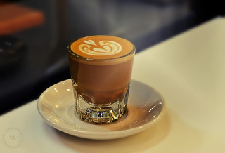 Café Cortado By Barista Eugene Lee ~ Cafe Dulce, Los Angeles | by r.e. ~