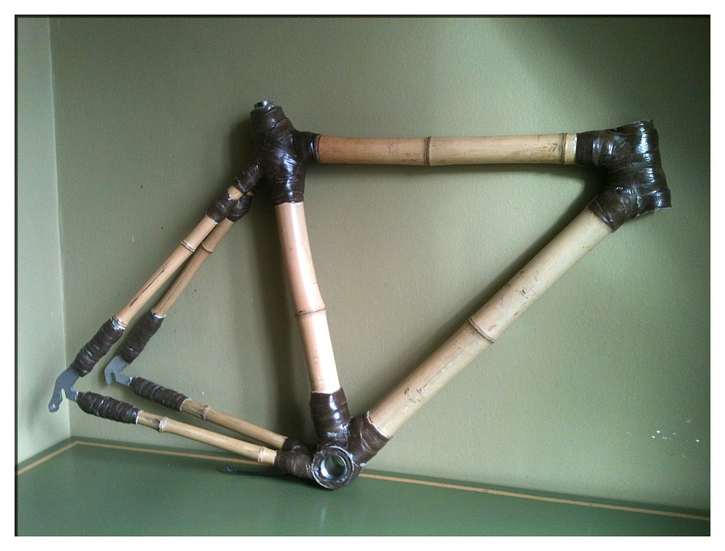 Bamboo Bike frame   DIY bespoke bamboo bike frame, made at 2…   Flickr