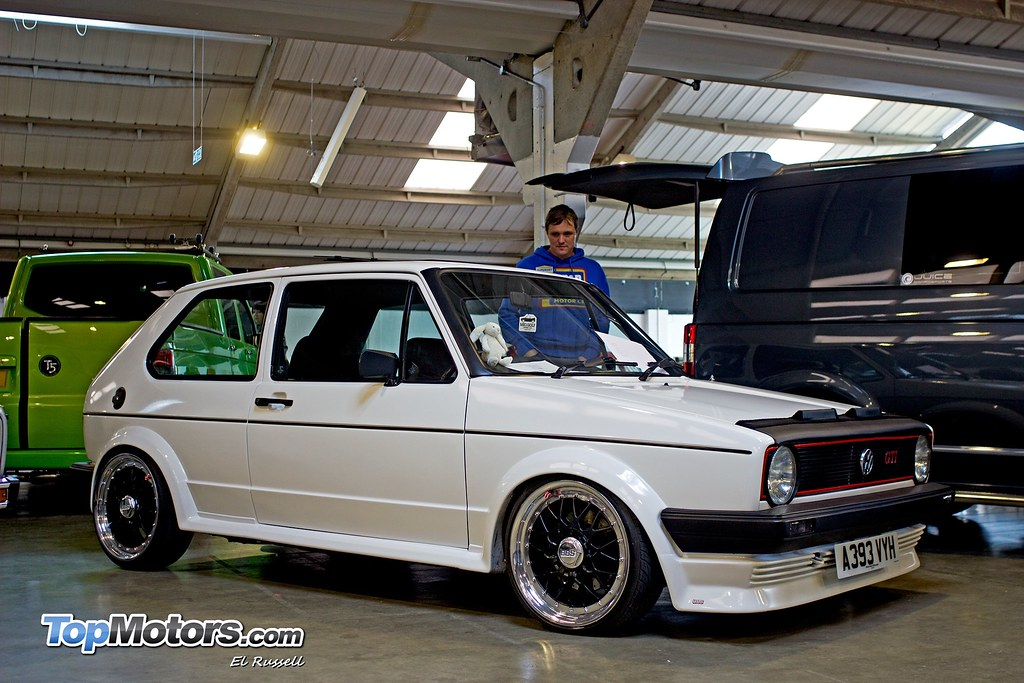 New Golf R >> VW Golf Mk1 - BBS Alloys | @ Spring Dub Show 2013 | Flickr