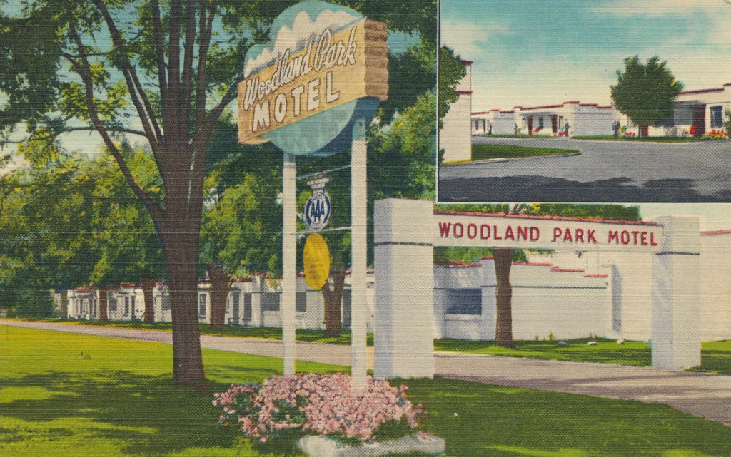 Woodland Park Motel - Spokane, Washington