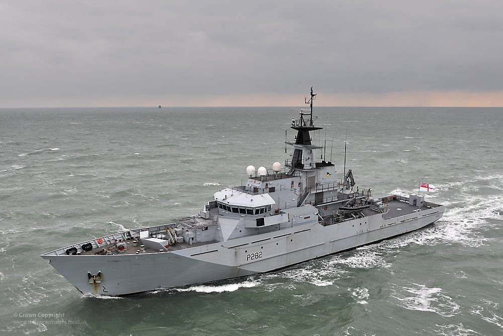 Fishery Protection Vessel HMS Mersey   River Class Patrol Ve…   Flickr