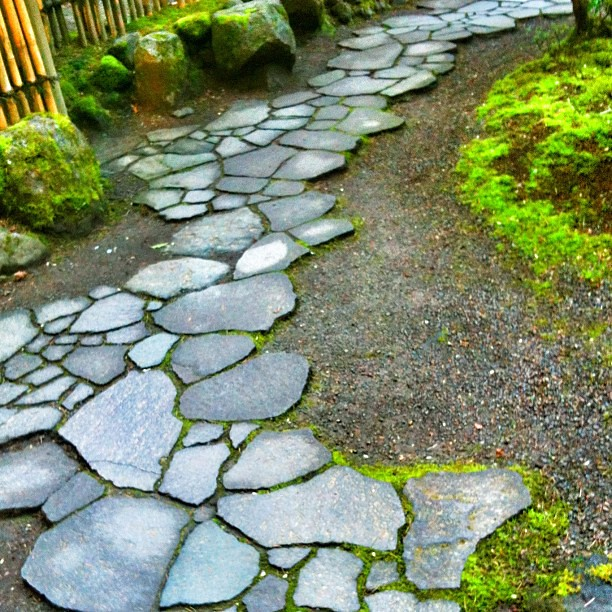Path at the Portland Japanese Garden | Jane Davila | Flickr