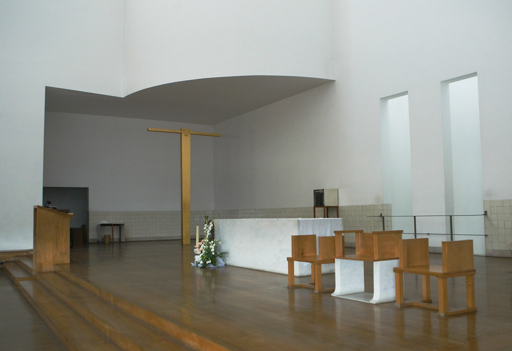 santa maria church de canaveses alvaro siza the two larg flickr