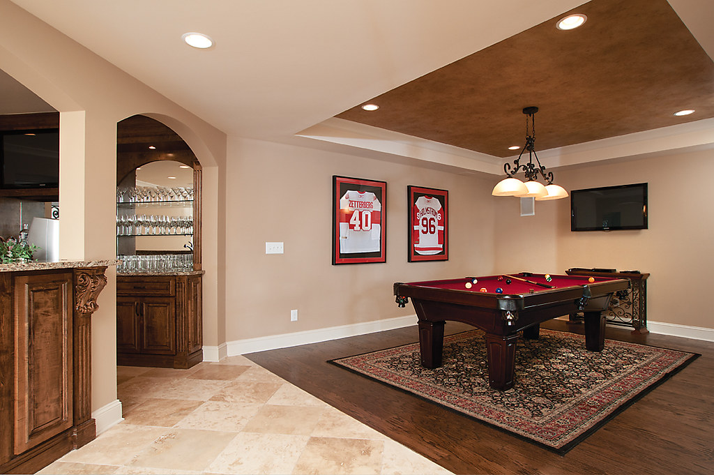 Pool Table Room Raymac Remodeling Complete Finished