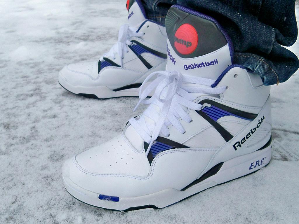 Reebok Pump Up Tennis Shoes