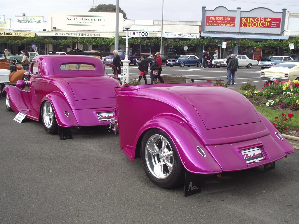 Own Car >> 1934 Ford 3 Window Hot Rod & Trailer | This 1934 Ford 3 Wind… | Flickr
