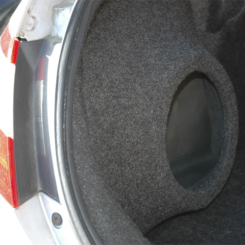 2006 2011 Honda Civic Coupe Custom Fiberglass Subwoofer En
