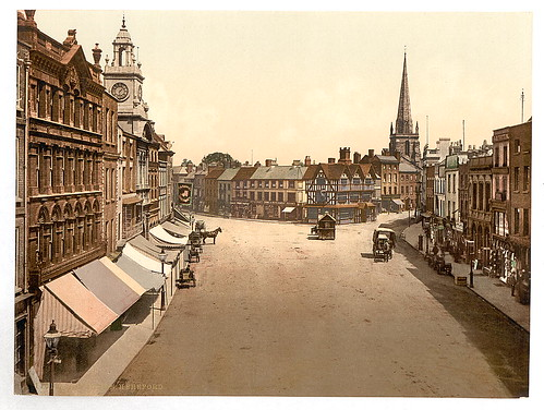 [High Tower [i.e., High Town], Hereford, England]  (LOC) | by The Library of Congress