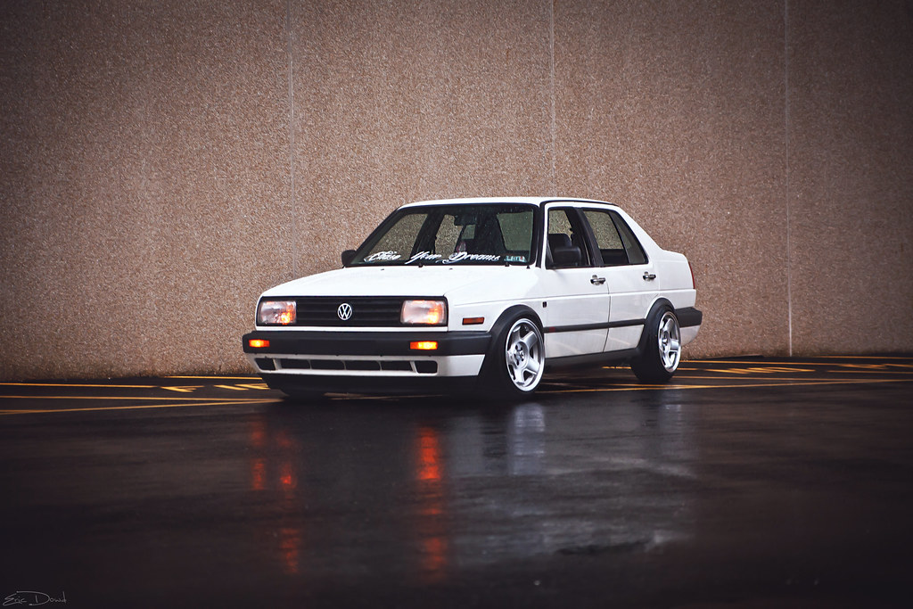 Mikey Vucolo Vw Mk2 Jetta Shot With Canon 5d Tamron