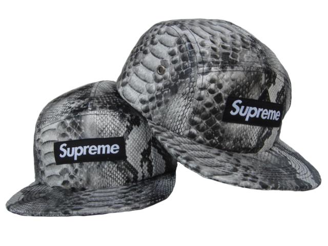 ... saintssnakeskinsnapback Supreme Snakeskin 5 Panel Camp Cap Snapbacks  Strapbacks Hats  d872d604bfc