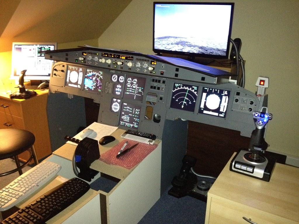 D Aize A320 Home Cockpit D Aize Flickr