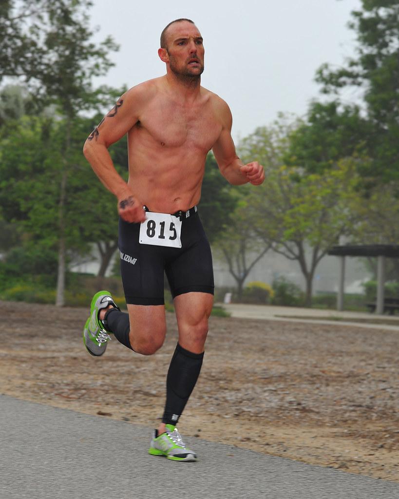 Triathlete 815 815 Was One Of Several Triathletes That