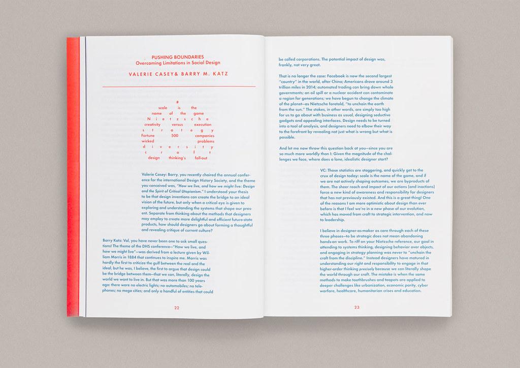 Dise o del libro leap dialogues por two points - Libros diseno industrial ...