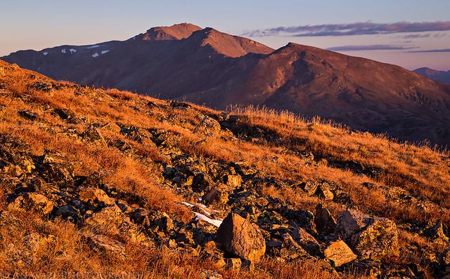 Mount Massive Sunrise