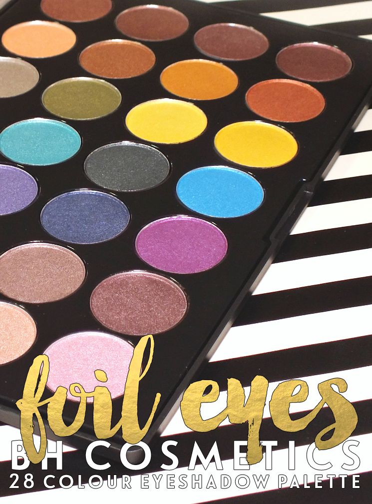 BH foil eyes 28 colour eyeshadow palette (3)