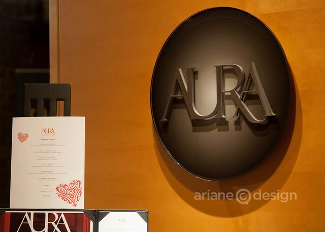 AURA Restaurant entrance