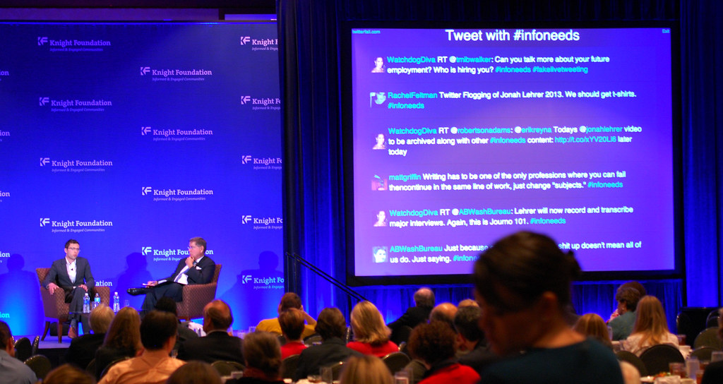 Jonah Lehrer apology talk at #infoneeds | The question and a… | Flickr