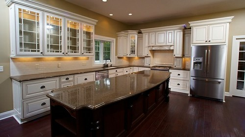 Wilmington custom kitchen wayne homes flickr for Make your own house 3d