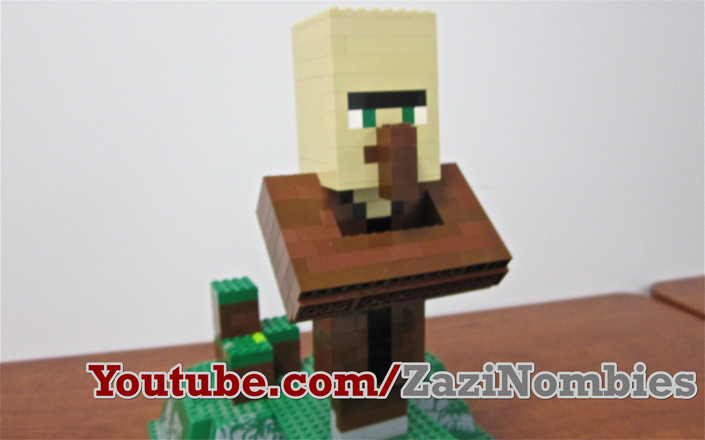 Minecraft Village Coloring Pages Lego Minecraft Villager