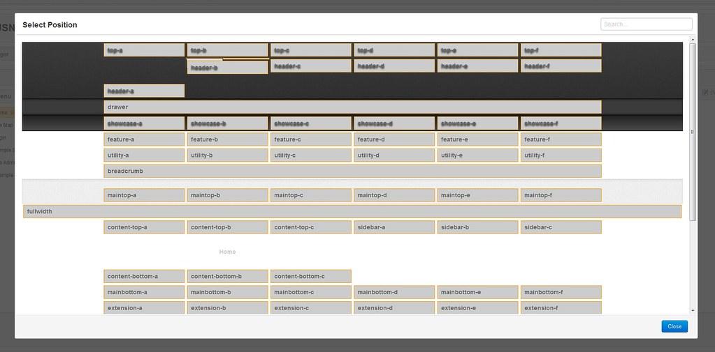 Gantry Template | JSN PowerAdmin Module Position Chooser wit… | Flickr