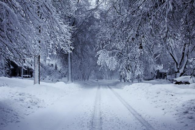 Kansas City Winter Snow 2013 Fairway Kansas Explore