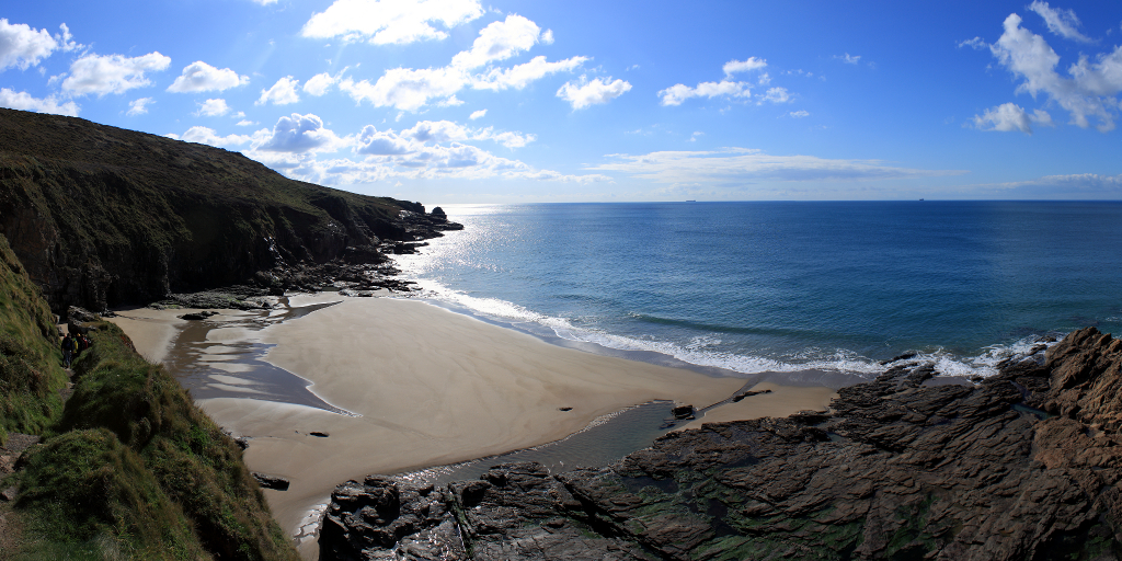 Rinsey Cove Panorama Rinsey Cove Is A Secluded