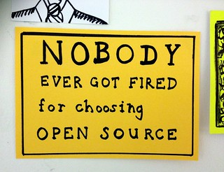 Nobody ever got fired for choosing open source | by Roo Reynolds