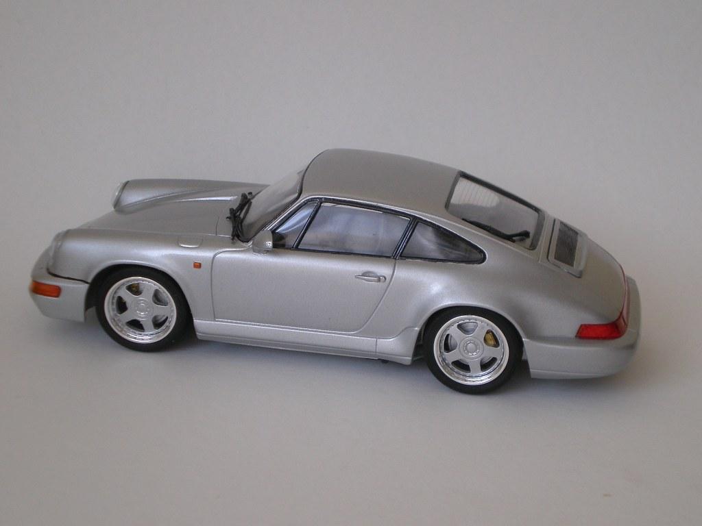 1 24 Fujimi Porsche 911 Carrera 12343 With Aoshima 18inch