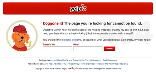 Yelp, @yelp – 404 | by pioupioum
