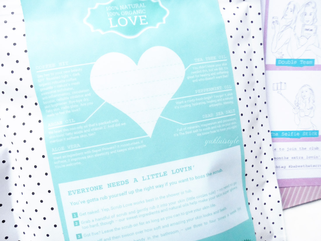 Scrub Love Mint Temptation Coffee Scrub review and swatch