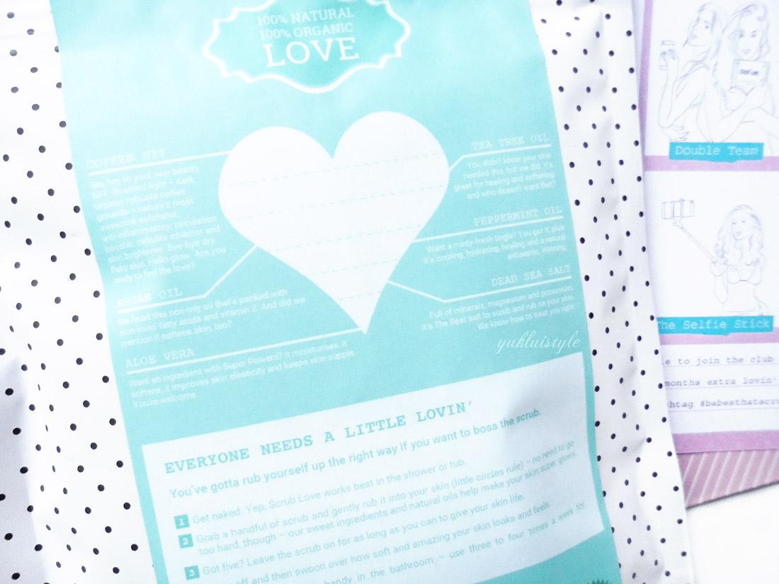 Scrub Love Mint Temptation Coffee Scrub review and swatch