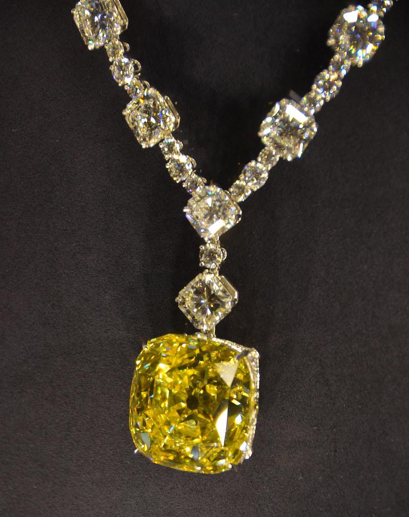 The tiffany diamond tiffany yellow diamond tiffany co flickr the tiffany diamond by afagen aloadofball Gallery