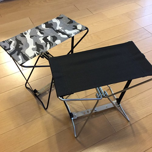 モンベルの折りたたみ椅子