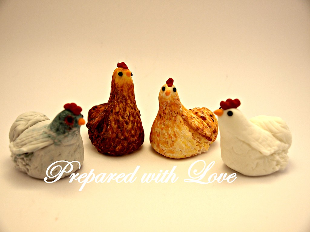 Chicken Cake Topper