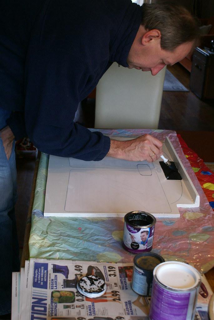 Deksel voor bed tafel maken kathleen theo flickr - Bed tafel ...