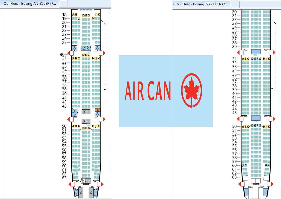 Plan cabine boeing 777 air austral for Plan cabine 777 300er