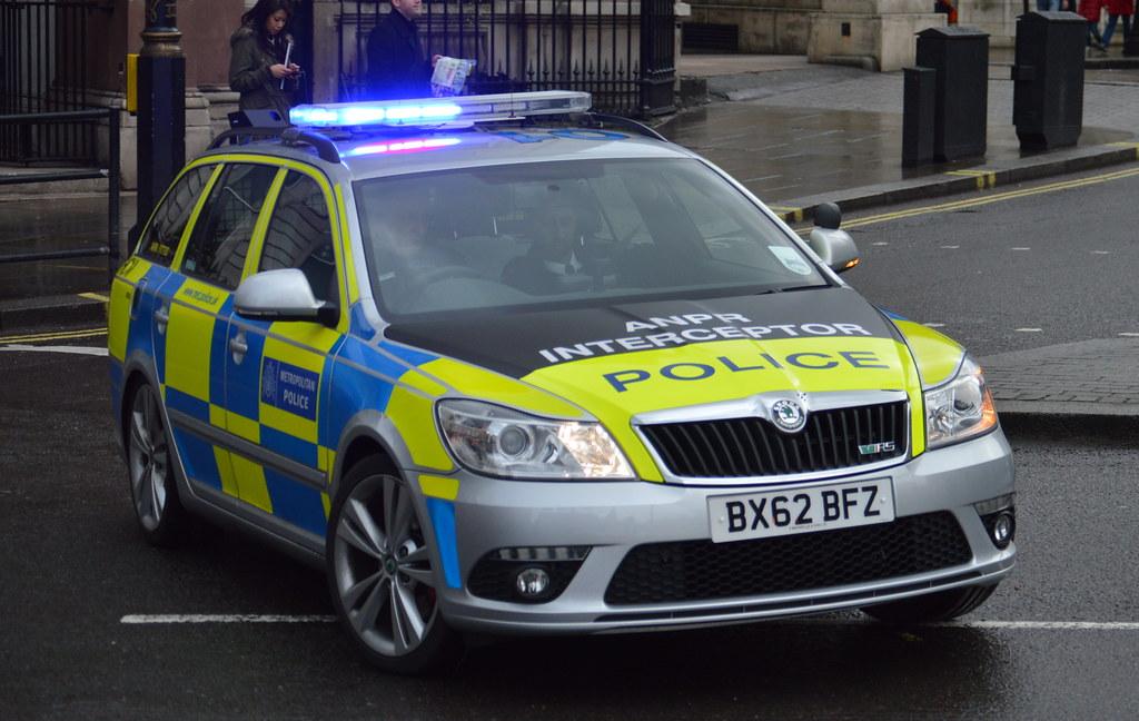 Metropolitan Police Skoda Octavia Vrs Area Car Hcm