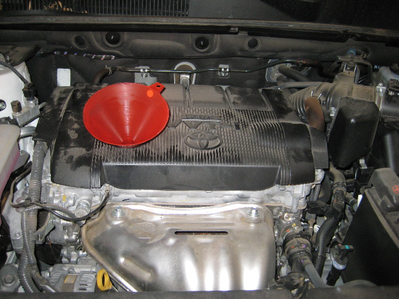 2012 Toyota RAV4 2.5L 2AR-FE I4 Engine - Oil Change & Filt… | Flickr