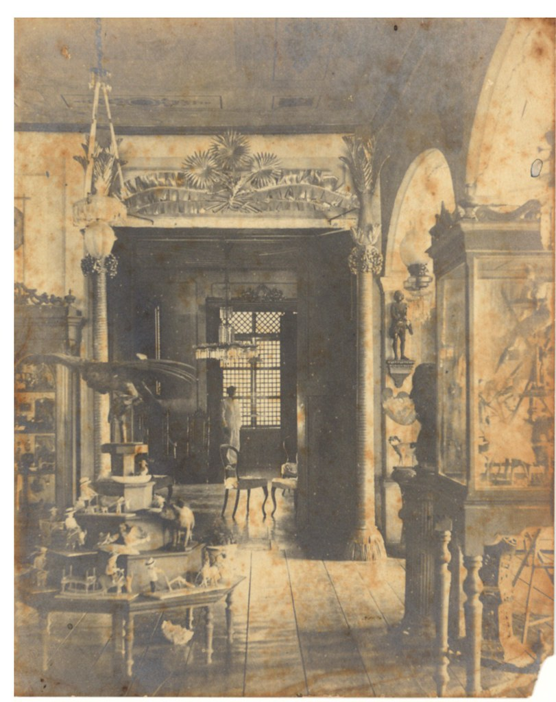 Interior of a philippine home house of pedro paterno in q for Interior design styles 20th century